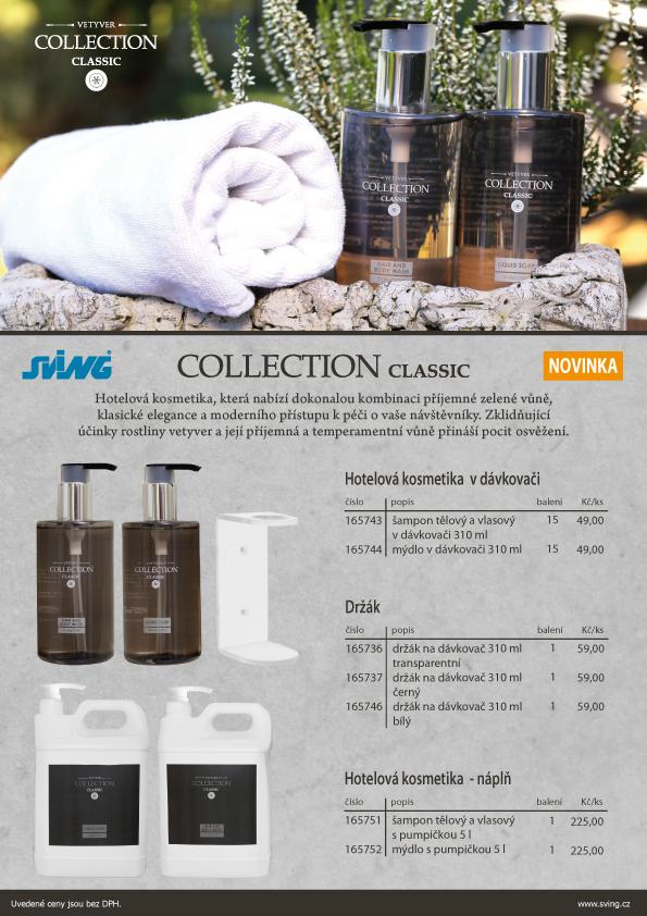Hotelová kosmetika Collection Classic